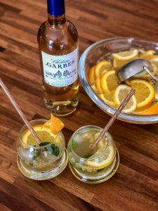 Le cocktail de la rentrée « Passion & Agrumes » au Cadillac blanc doux