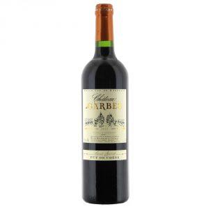Côtes de Bordeaux Rouge – Cuvée fût de chêne 2015  75cl