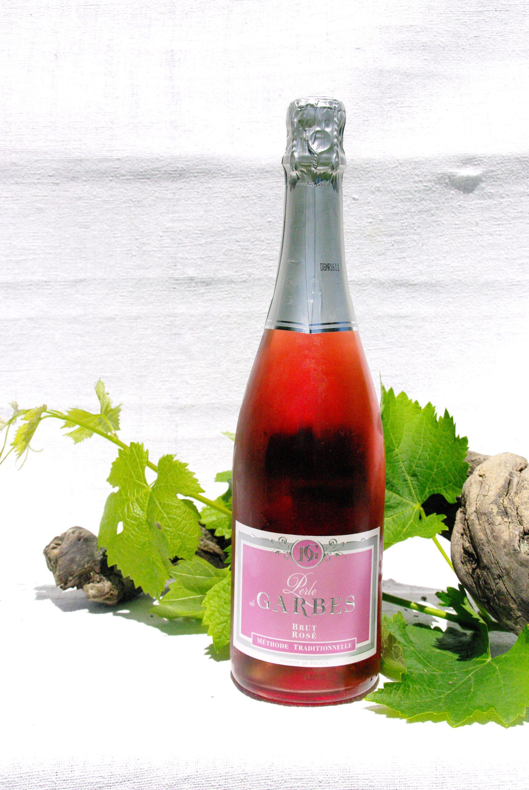 perle de Garbes méthode traditionnelle rosé