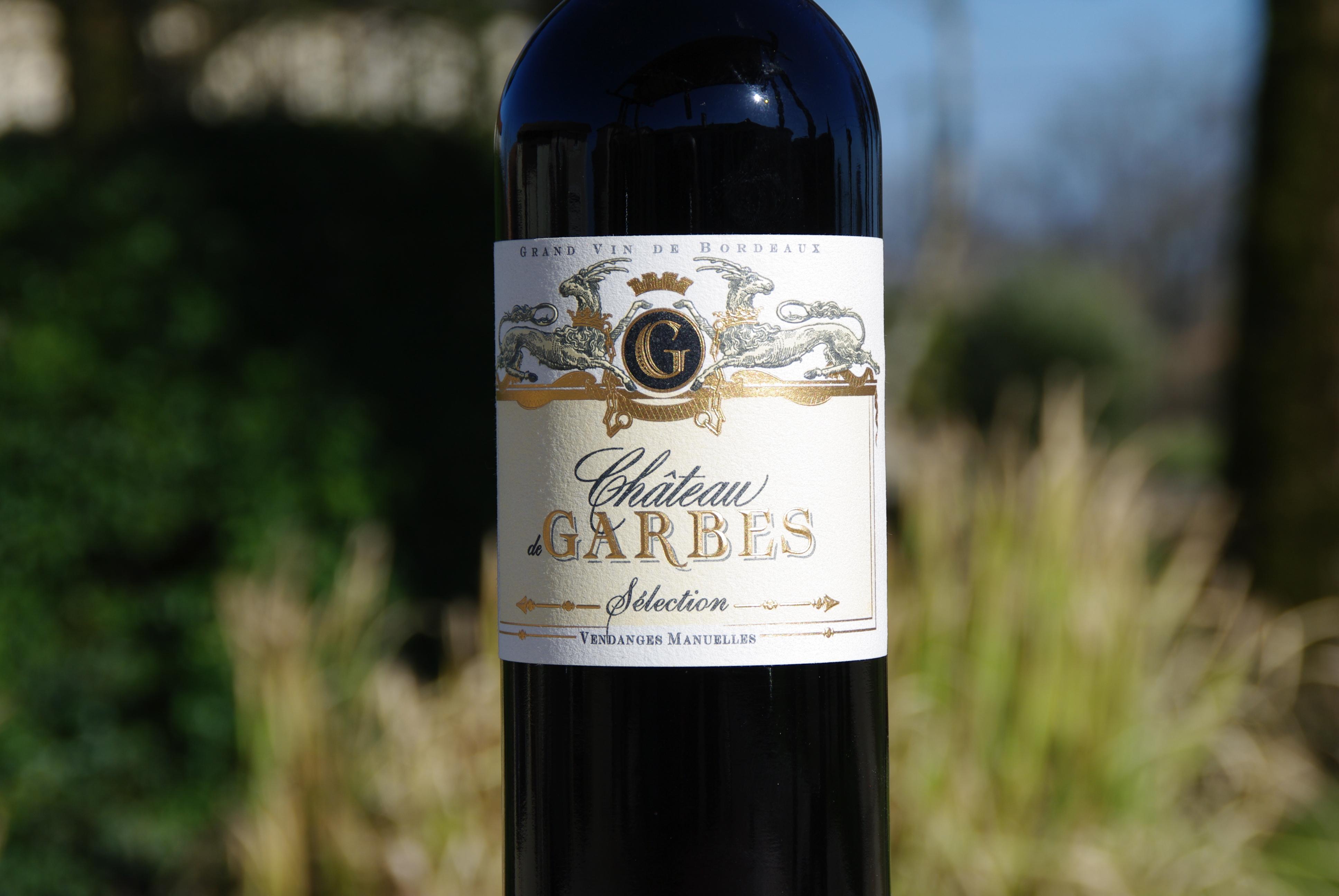 Côtes de Bordeaux Rouge cuvée Sélection de Garbes