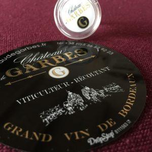Stop Goutte + Bouchon en verre – Château de Garbes