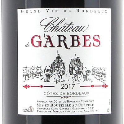 Côtes de Bordeaux rouge – Cuvée traditionnelle 2018  150cl