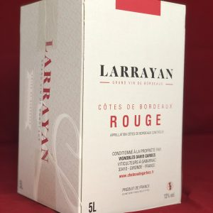 Bag in Box 5L Côtes de Bordeaux Rouge
