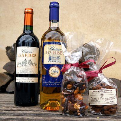 Coffret Vins et Chocolats