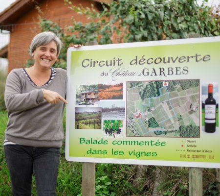 Elodie LIENARD DAVID ballade découverte dans les vignes