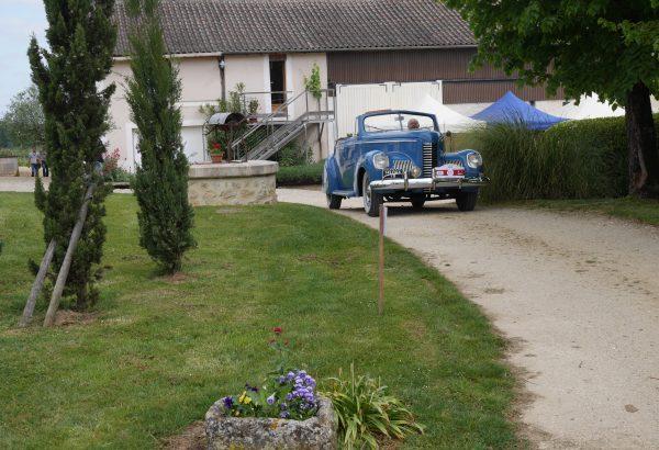 voiture de collection jpo château de Garbes